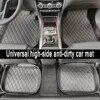 Tapetes do carro universal para todos os modelos peugeot 206 301 307 308 408 508 2008 3008 4008 rcz accessorie estilo do carro