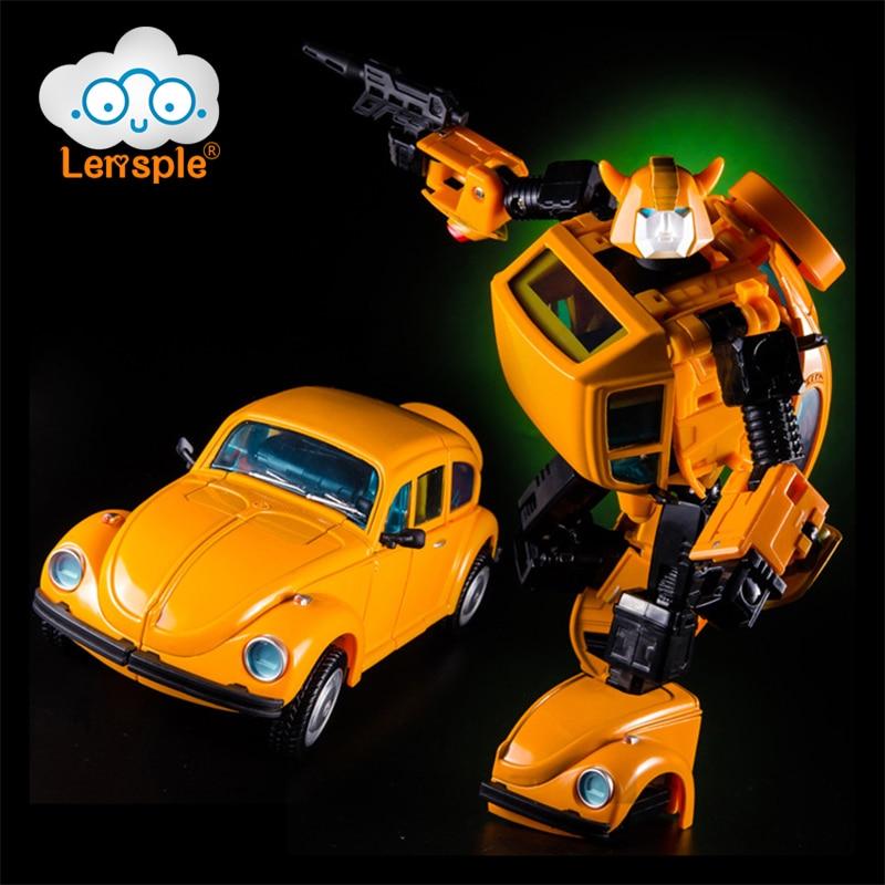 Lensple G1 MP21 18cm juguete Robot de metal de transformación, aleación KBB MP-21 de gran tamaño KO TF, colección de figuras de acción, Robot de juguete, regalos