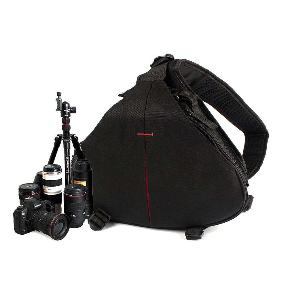 Mochila para cámara subacuática, bolsa de hombro Digital, impermeable, para Canon, Nikon,...