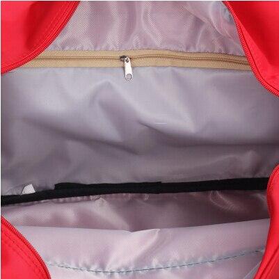 2020 Mode Faltbare tragbare schulter tasche wasserdichte reisetasche gepäck große kapazität reisetaschen männer und frauen