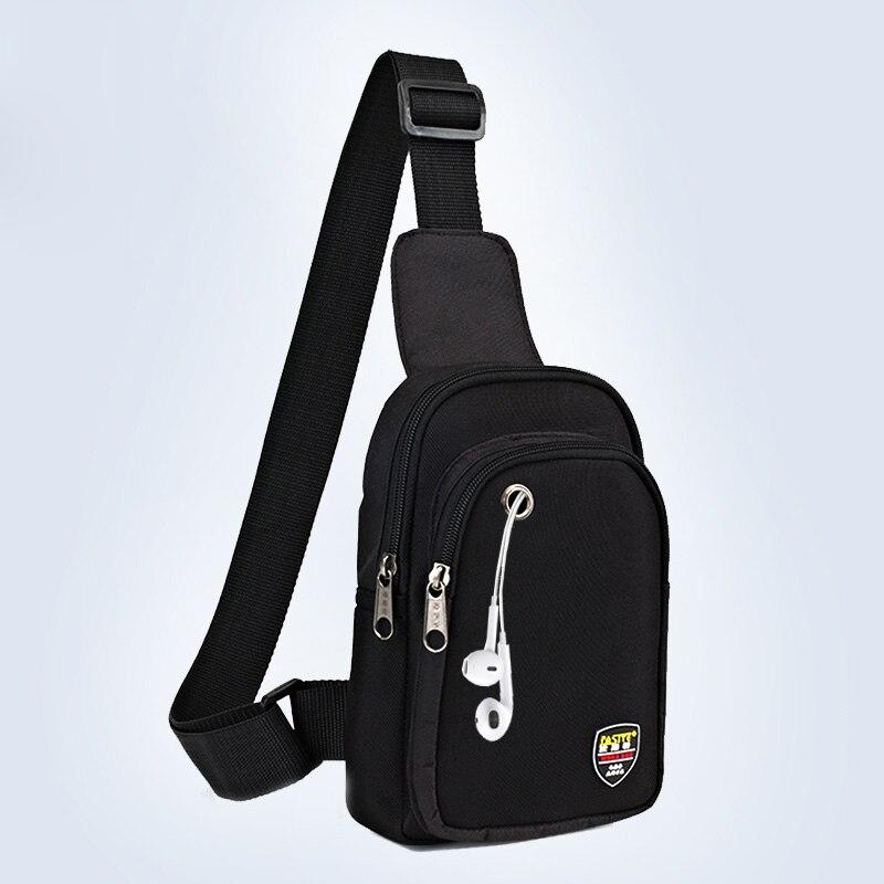 Nueva moda bolso de herramientas impermeable para hombre, bolso de hombro para hombre, bolso de mensajero informal, bolsa de viaje