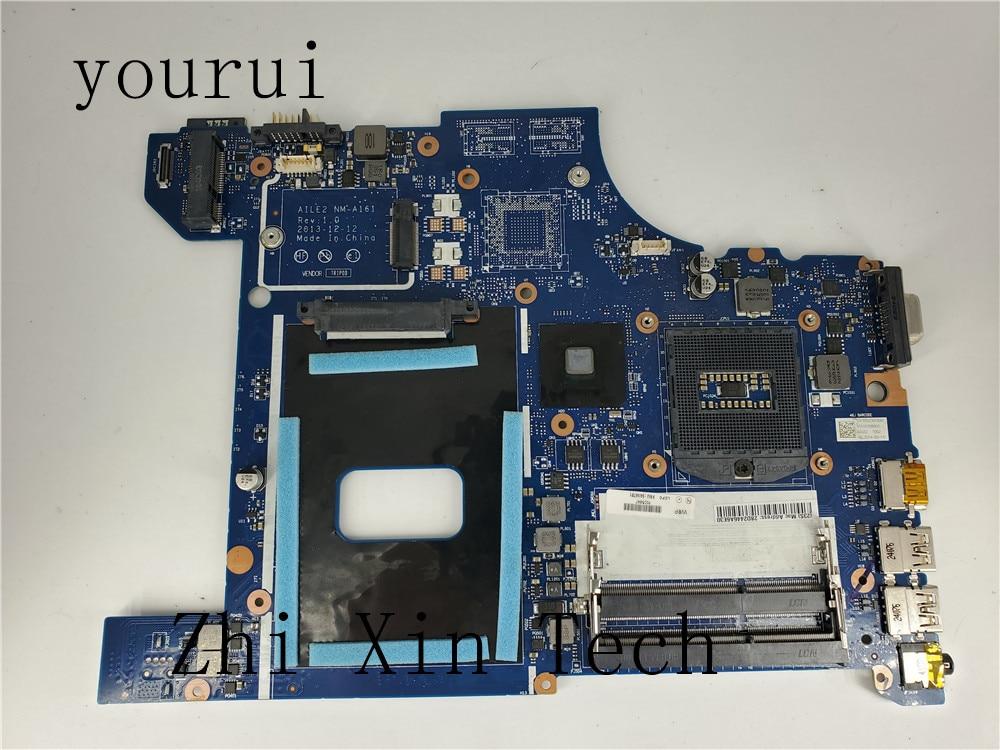 Yourui اللوحة المحمول لينوفو ثينك باد E540 FRU 04X4781 AILE2 NM-A161 DDR3 اختبار اللوحة الرئيسية ok 100% الأصلي