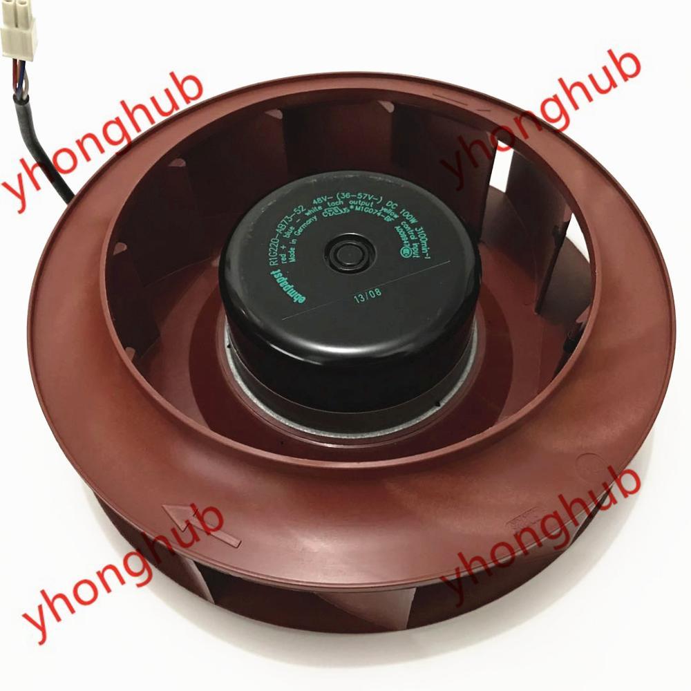 Ebmpapst R1G220-AB73-52 DC 48V 220x220x55mm ventilador de refrigeración de servidor