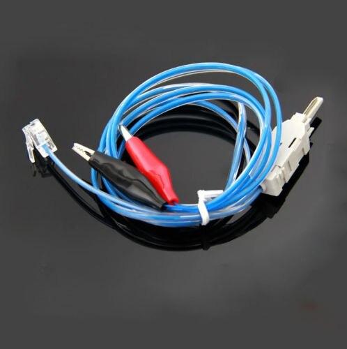 3 puertos para teléfono/teléfono línea de prueba profesional RJ11 clip de prueba de comunicación