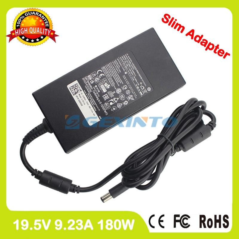 Тонкий 19,5 V 9.23A ноутбук зарядное устройство ac адаптер питания для Dell G3 15 3579 G3 17 3779 G5 15 5587 G7 15 7588 Alienware 13 R3 DA180PM11