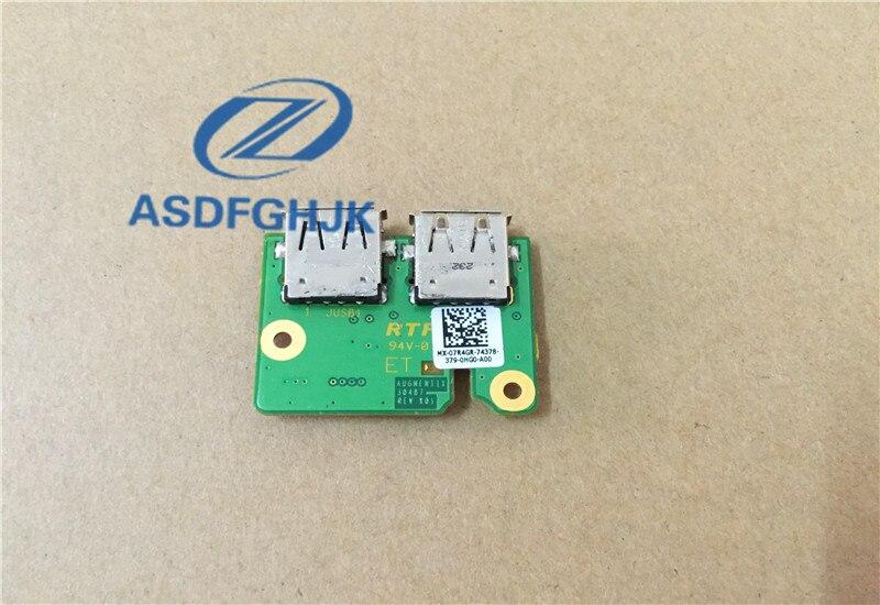 ASDFGHJK Original Für dell E6420 usb board CN-07R4GR 7R4GR 07R4GR 100% Test ok