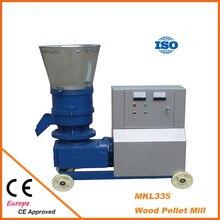 MKL335 пресс для гранул 22KW Древесная биомасса гранул мельница с мотором