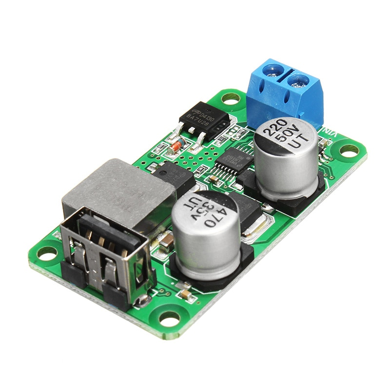 Charge rapide de soutien de courant élevé de panneau de Charge dusb de Module dalimentation de Buck dusb de cc 5V 5A