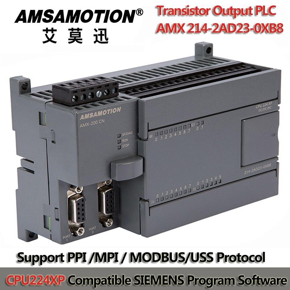 CPU224XP S7-200 PLC программируемый контроллер 24 В PLC программируемый транзистор выходной программируемый логический контроллер