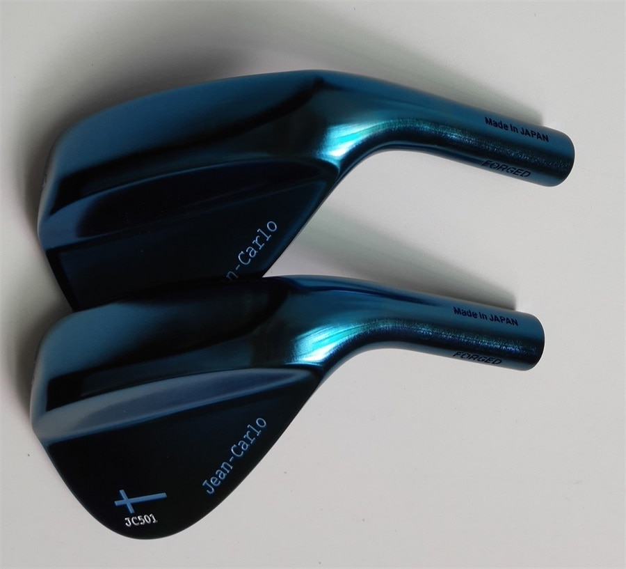 2018 Jean Carlo  golf  wedge head  forged  carbon steel  blue color   wood  iron  putter  head