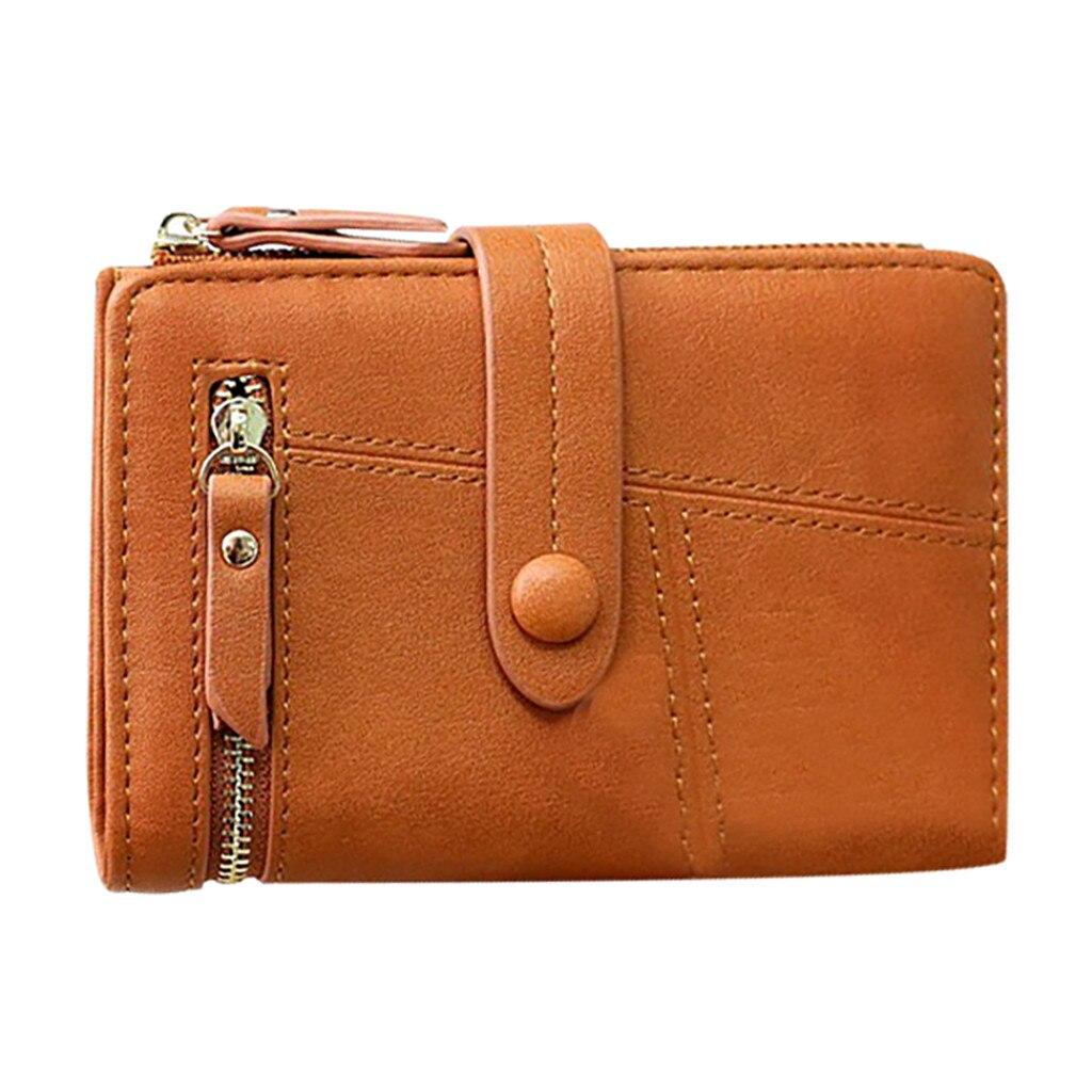 Bolso pequeño para mujer, Mini monedero pequeño plegable, portatarjetas, porta tarjetas, monedero...