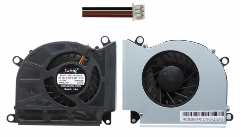 Laptop CPU Cooling Fan For MSI 16F1 16F2 16F3 1761 1762 GX660 GT680 GT683 GT60 GT70 PABD19735BM PABD19735BM-N153 B9733L12B-02