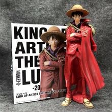 25cm une pièce singe D. Luffy rouge 20th Anime figurine PVC nouvelle Collection figurines jouets Collection pour cadeau de noël