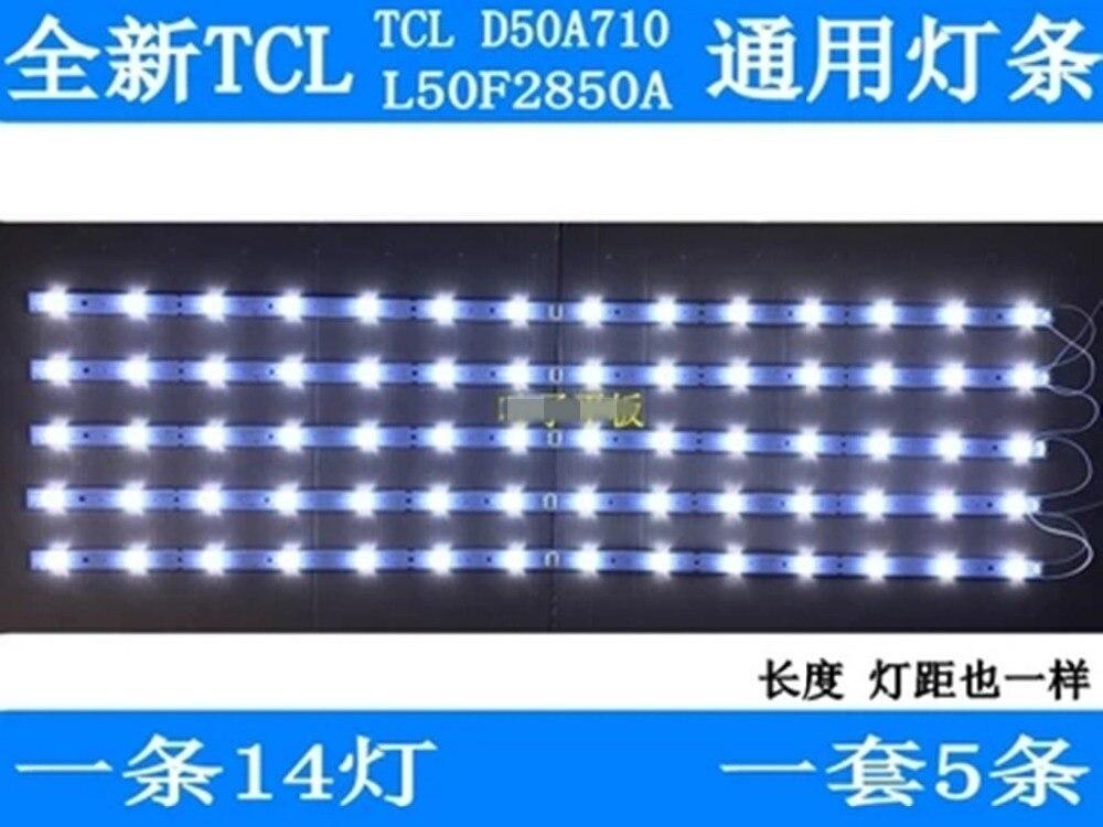 5 peças/lote para TCL D50A710 artigo lâmpada lâmpada RF-BS500E32-0701 L50F2850A l/0701R-02 lâmpada artigo