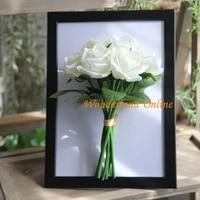 2pcs 17 colors beautiful artificial rose bouquet simulation vivid flower bud hydrangea bridal bouquet wedding supplies gf12504