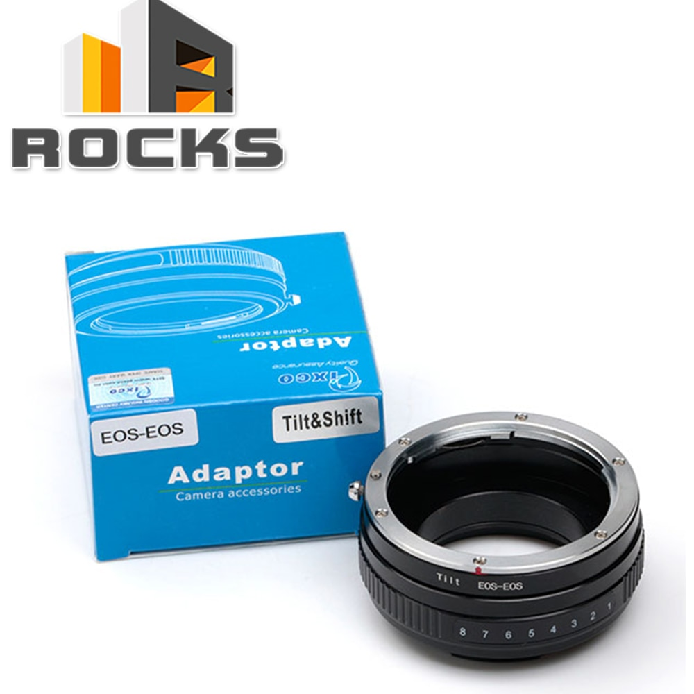 Macro Tilt Adapter suit for Canon EOS EF mount lens to suit for Canon EOS 5D II III 60D 700D 450D 50D
