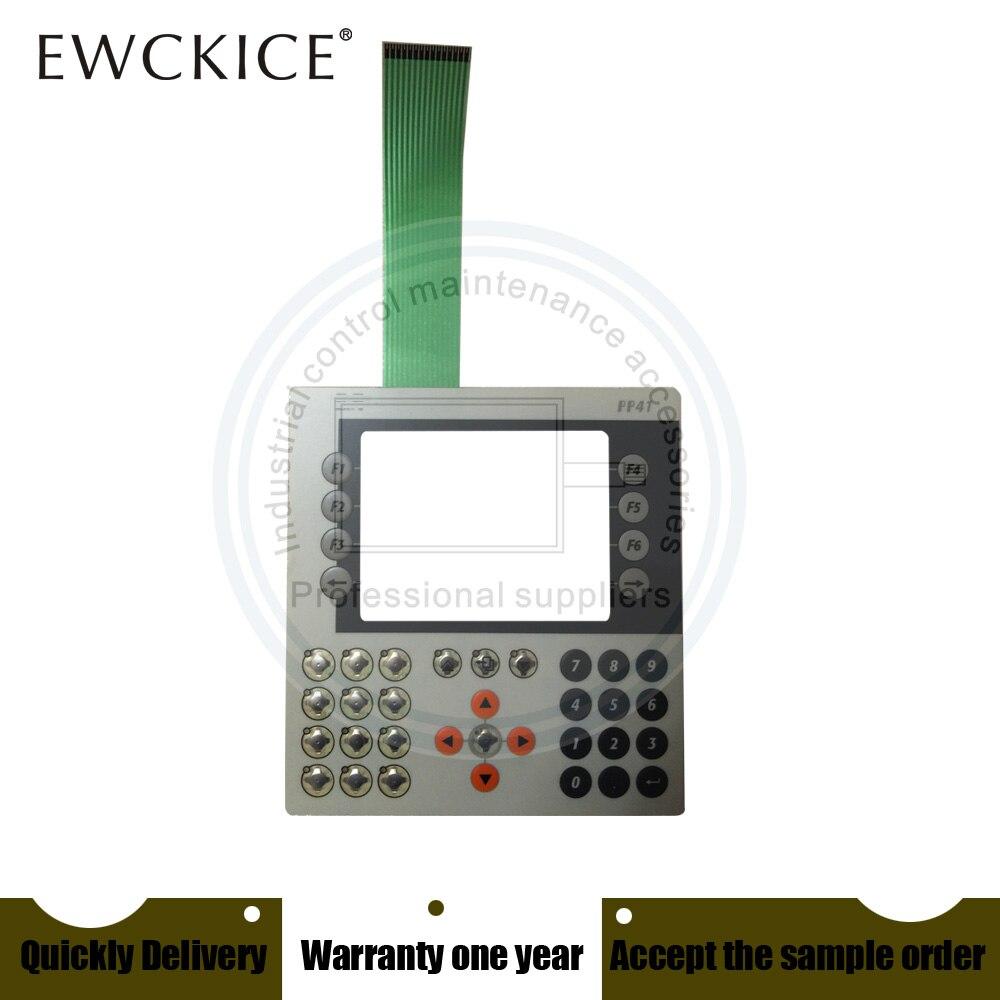 NEW 4P3040.00-490 Power Panel PP41 PP 41 HMI PLC Membrane Switch keypad keyboard Industrial control maintenance accessories