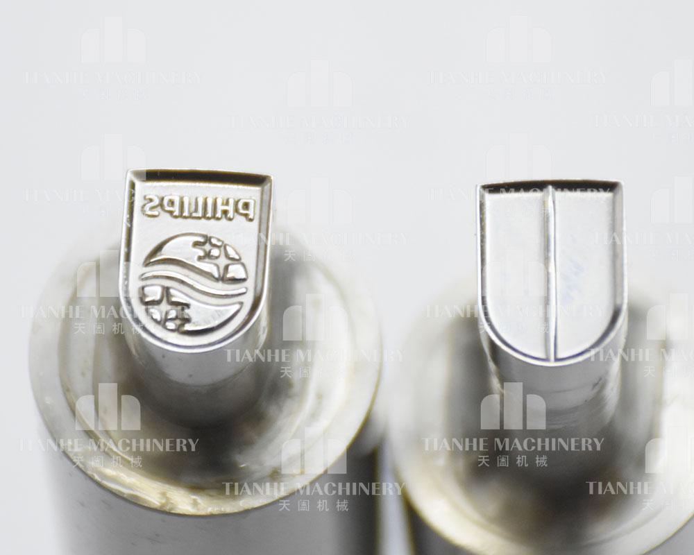 Set de plantilla de perforación 3d ph para sello ponche personalizado para máquina de prensado de dulces tdp0/1,5/5