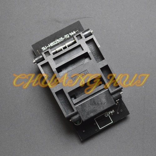 Clamshell QFP144 LQFP144 TQFP144 SU-H8S2505-TQ144 Programmer Adapter for LP Programmer enlarge