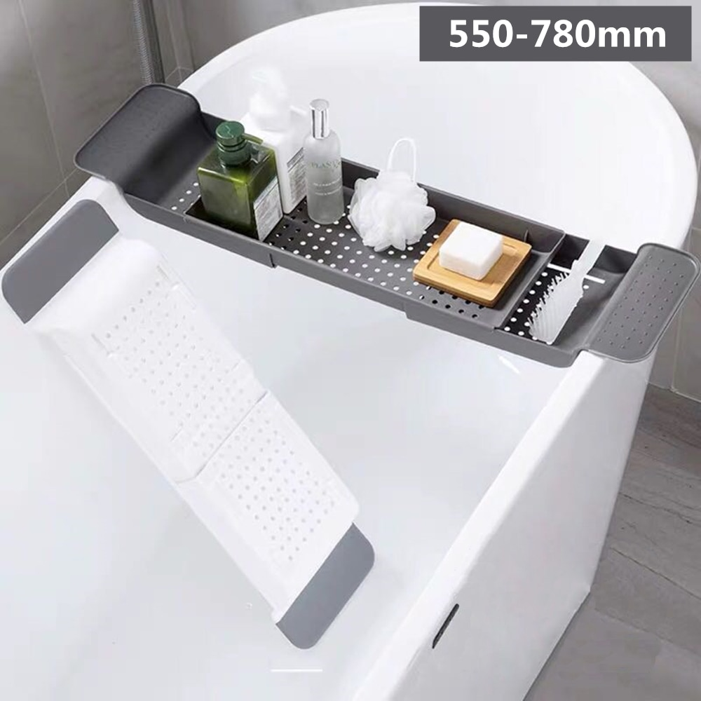 Estante de fregadero de Casa estante de almacenamiento de bañera estante de baño estante de drenaje soporte de baño Almacenamiento de cocina taza de succión Almacenamiento de cocina