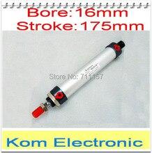 Aleación de aluminio MAL 16*175 Mini cilindro 16mm diámetro 175mm cilindro de aire neumático 16-175 MM