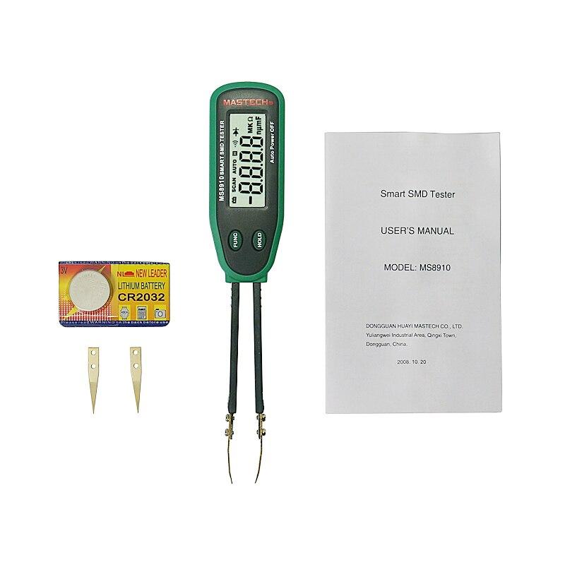 Mastech MS8910 Digital Multimeter SMD Tester
