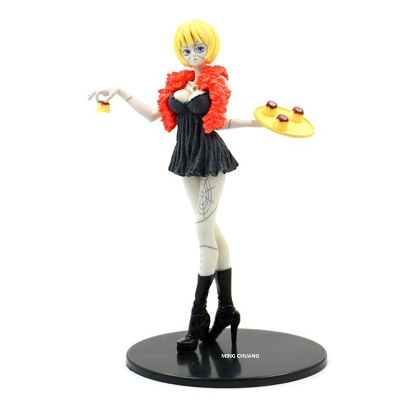 """8 """"una pieza Victoria Cindry Ho Gu Barker mono D luffy PVC figura de acción coleccionable modelo caja de juguete 19 CM Z236"""