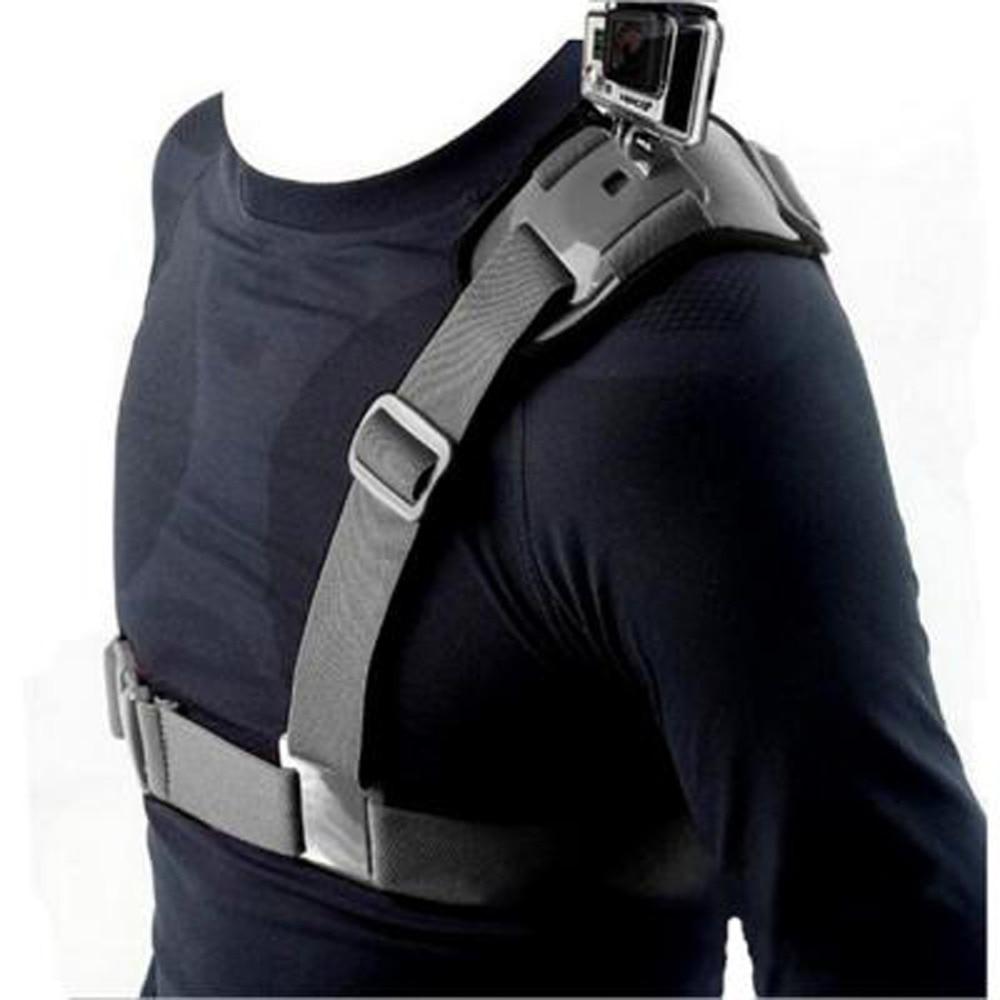 ALLOET плечевой ремень для камеры крепление для экшн-камеры для Gopro спортивный нагрудный ремень адаптер Аксессуары для экшн-камеры