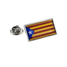 Catalonia Catalonian bayrak Pin rozeti