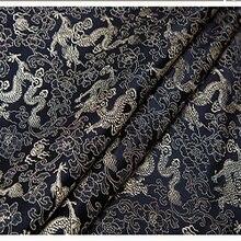 75x100cm Imported Japanese style black Metallic Jacquard Brocade felt Fabric,3D jacquard yarn dyed p