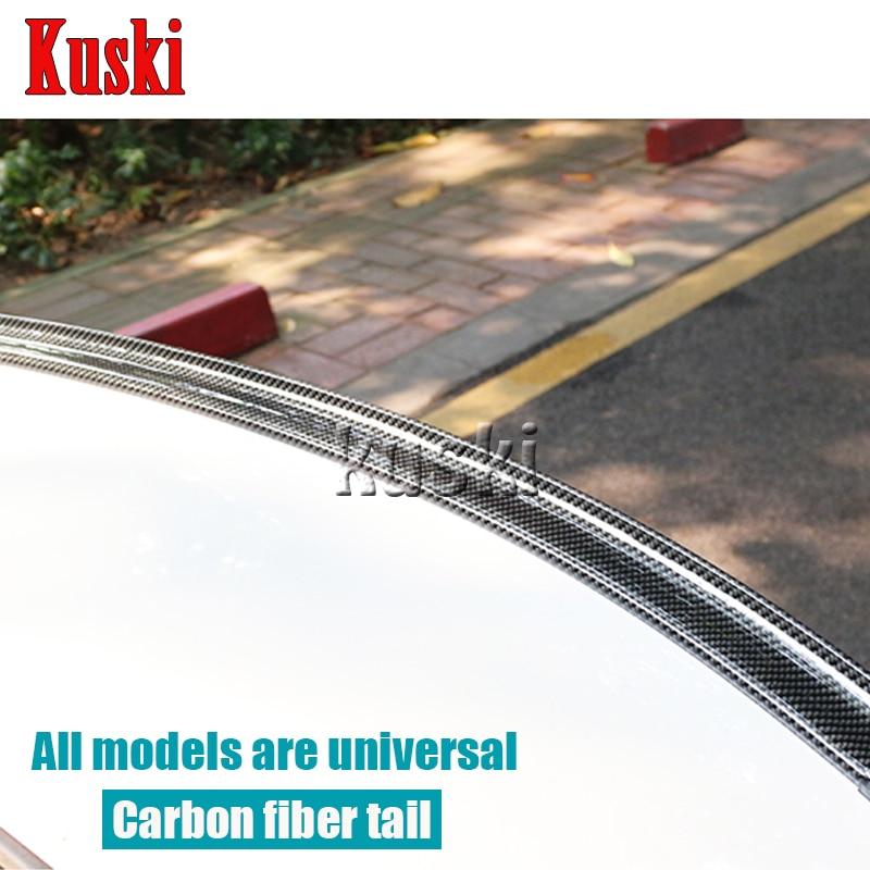 Car Carbon Fiber Rear Spoiler Wing for Lexus RX NX GS CT200H GS300 RX350 RX300 For Infiniti q50 FX35 G35 G37 Accessories