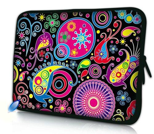 """Бесплатная доставка цветной чехол для ноутбука 10 &quotс цветами 1"""" Samsung Galaxy Tab/Apple"""