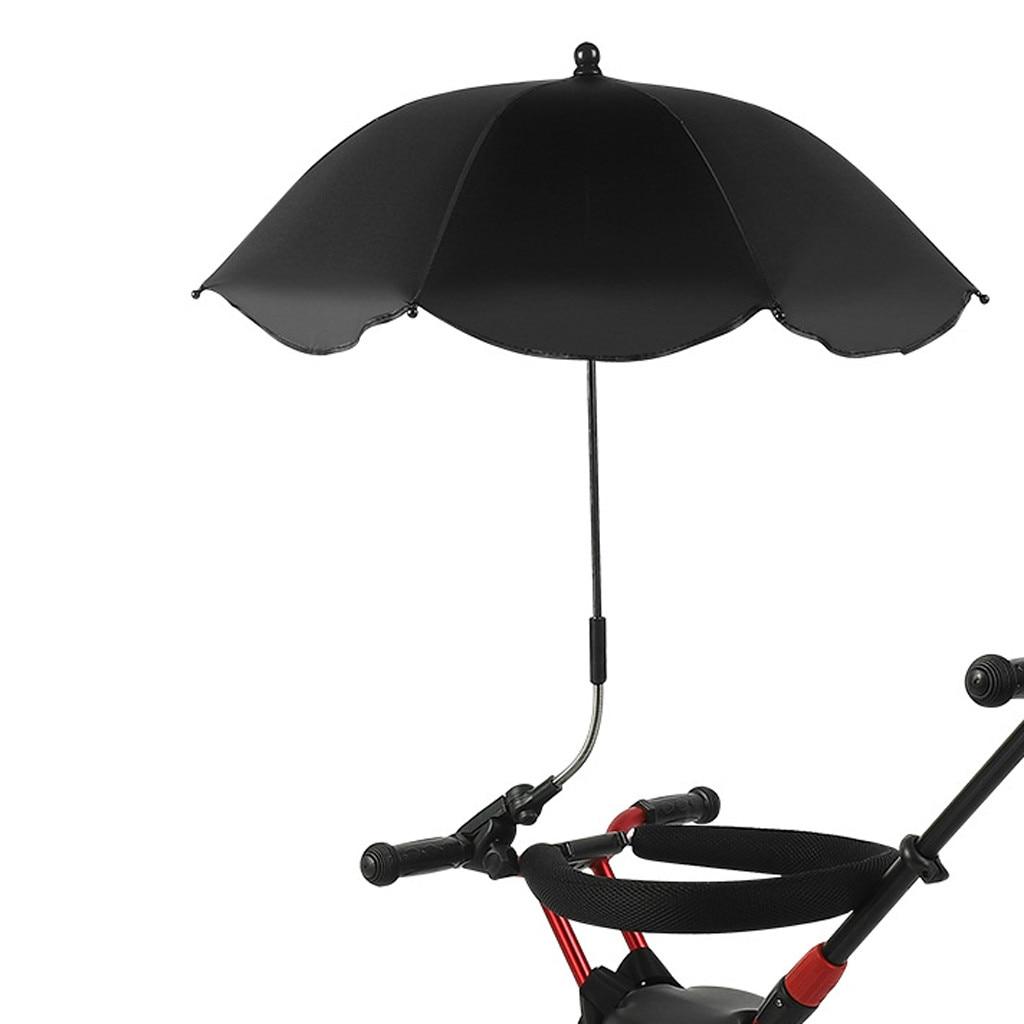 1pc High Quality Baby Parasol Umbrella Buggy Pushchair Pram Adjustable Stroller Umbrellas Shade Canopy Sun Rain Protecter G723