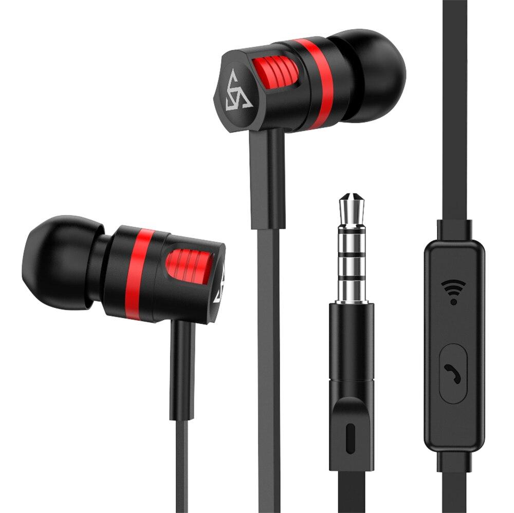 Marca original fones de ouvido jm26 isolamento ruído no ouvido fone com microfone para o telefone móvel universal para mp4