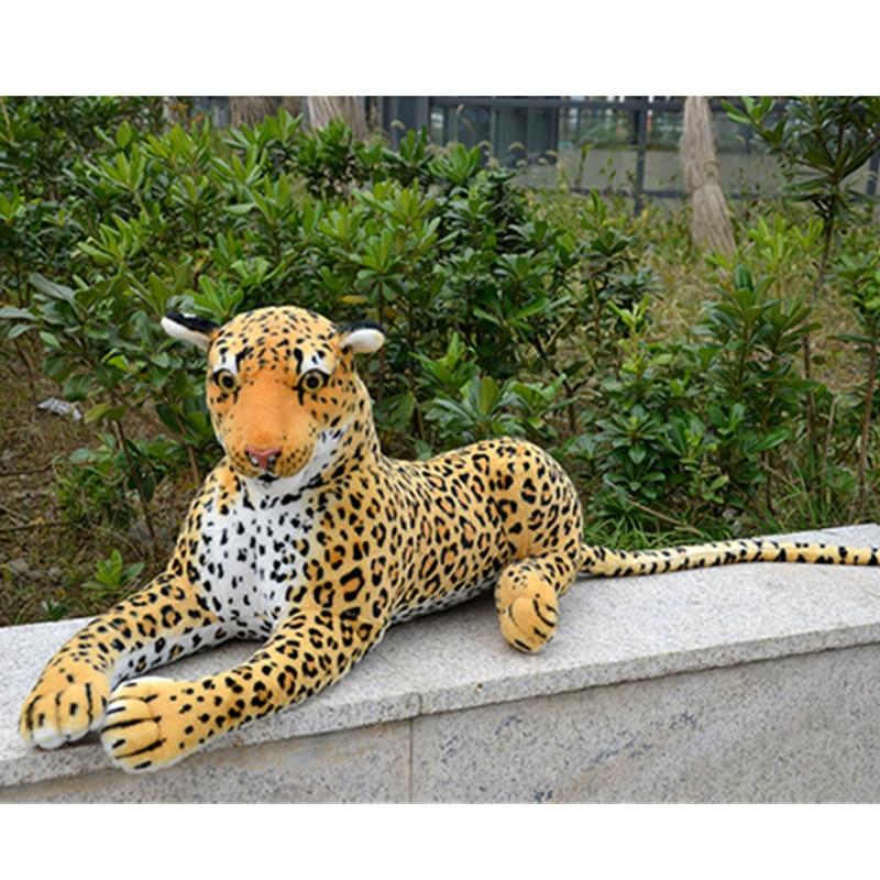 Fancyالتاجر-دمية النمر 110 سنتيمتر ، قطيفة ناعمة ، لعبة محاكاة عملاقة ، نموذج واقعي ، ديكور