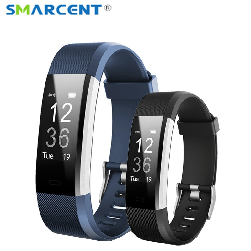 Pulsera de Fitness, pulsómetro, reloj de Fitness, contador de pasos, podómetro, rastreador de actividad, banda inteligente, rastreador de Fitness pk fitbits