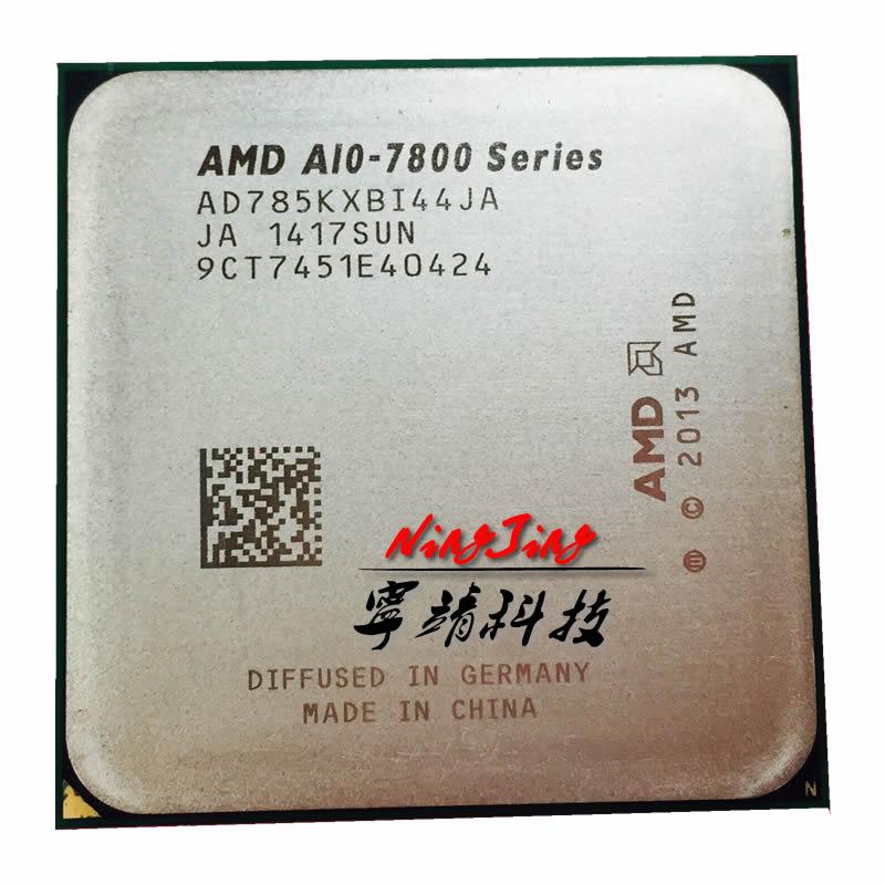 Четырехъядерный процессор AMD A10-Series 7850 A10 7850K 3,7 ГГц, процессор AD785KXBI44JA / AD785BXBI44JA Socket FM2 +