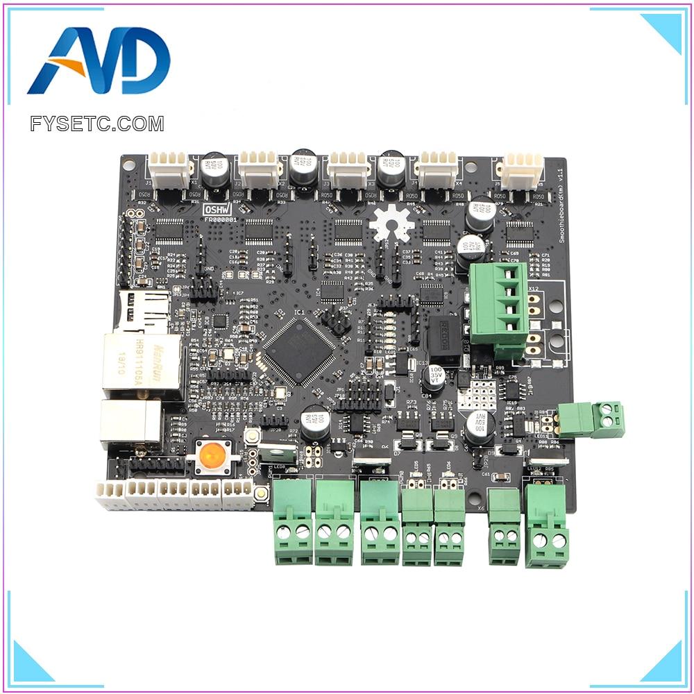 10 قطعة سموثيتبوارد 5XC V1.1 ARM مفتوحة المصدر اللوحة 32 بت LPC1769 Cortex-M3 لوحة تحكم دعم إيثرنت ل نك