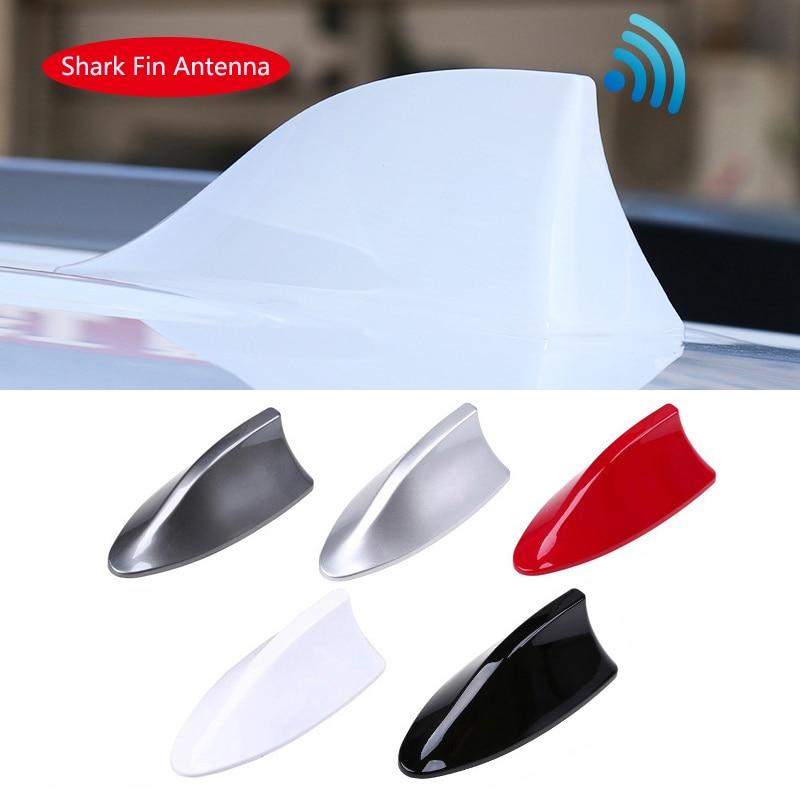 Car Antenna Shark Fin Antenna Radio FM Signal Aerials For Mercedes Benz W211 W204 W212 Audi A4 A3 Q5 BMW E39 E46 E60