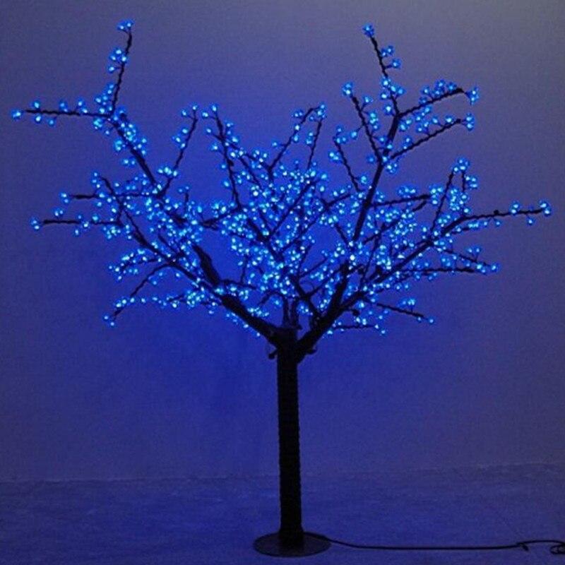 Waterprood IP65 LED Cherry Blossom Tree Light LED  synthetic 480pcs LED Bulbs totally 1.5m Height  Christmas tree light