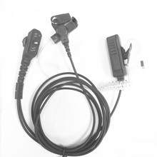 Большой PTT воздуховод наушники для HYT PD700 PD700G PD702G PD705G PD752 PD782 PD785 PD785G PT580H двухсторонние радиоприемники