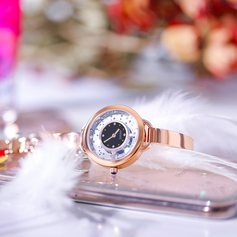 New Women Rose Gold Quartz Watch Ladies Stainless Steel Watchband High Quality Casual Waterproof Wristwatch Clock Gift for Wife enlarge
