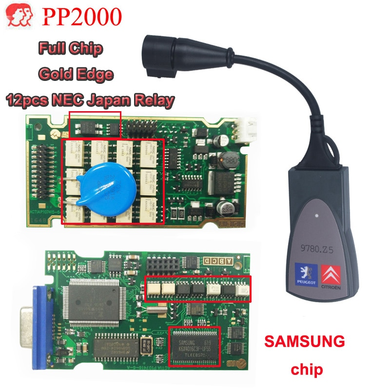 Best Quality Full Chip Lexia3 PP2000 with 921815C Firmware and Diagbox V7.83 lexia-3 Lexia 3 V48 PP2000 V25 Auto Diagnostic Tool