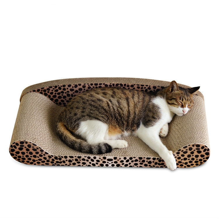 corrugated-paper-back-sofa-shaped-cat-scratch-board-50cm-pet-supplies-claws-toy-sofa
