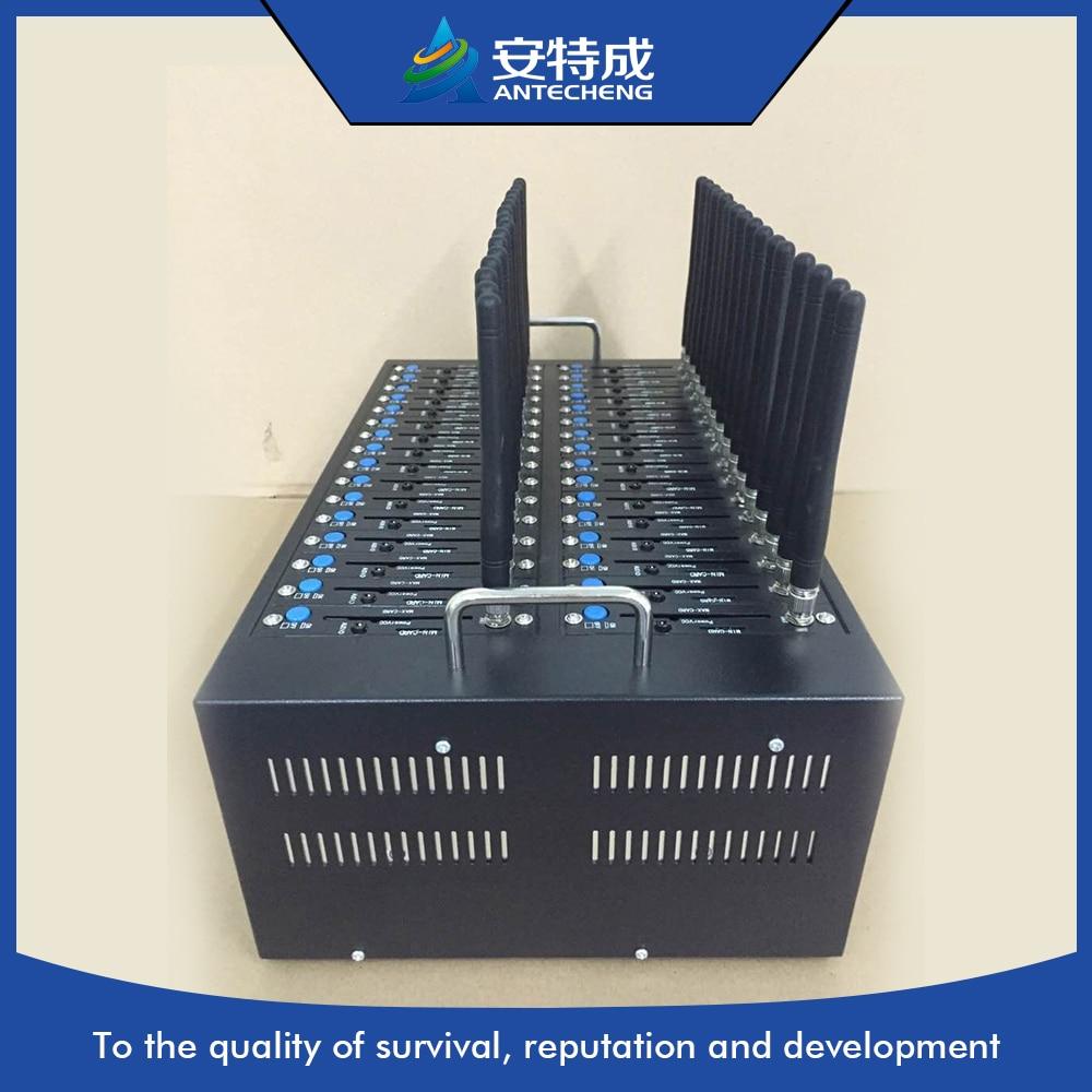 Best selling Antecheng 32 port gsm modem pool bulk sms voice advertising machine