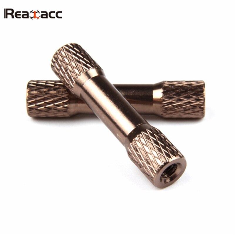 2 uds Realacc Real3 marco Kit de repuesto 28mm separador columna de aluminio para RC Multirotor accesorios de repuesto