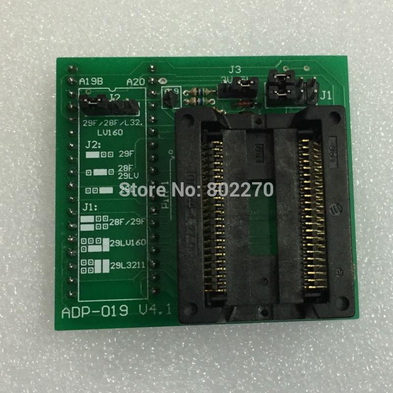 PSOP44 ADP-019 V4.1 دعم AM29LV160 MX29L3211 PSOP44 مبرمج محول/محول يستخدم خصيصا ل GQ-4X ، GQ-4X4 مبرمج