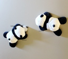 10CM Approx. New Cute Panda Stuffed Plush Toys , mini small dolls accessories Plush Toys