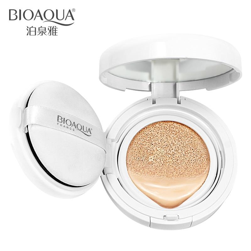 BIOAQUA Air Cushion BB Cream Concealer Moisturizing Foundation Makeup Bare Strong Whitening Face Beauty Makeup