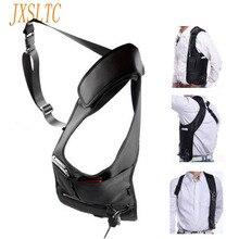 JXSLTC marka pod pachami torba moda czarny plecak kobieta podróż bezpieczeństwo inteligentna torba na telefon mężczyźni ukryta torba na ramię G-16